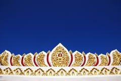 Verzierung des buddhistischen Tempels in Bangkok, Thailand Lizenzfreies Stockfoto