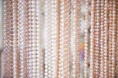 Verzierung gemacht von den Perlen im Souvenirladen Lizenzfreie Stockfotografie