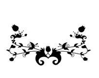 Verzierung mit keltischem Motiv Stockbild