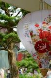 Verzierungen des traditionellen Chinesen für Feier des Chinesischen Neujahrsfests Lizenzfreies Stockfoto