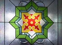 Verzierungen an großer Moschee Trenggalek lizenzfreie stockfotografie