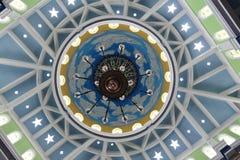 Verzierungen an großer Moschee Trenggalek stockbilder