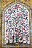 Verzierungen von Vakil-Moschee, Shiraz, der Iran Lizenzfreie Stockfotografie