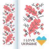 Verzierungs-nationaler Ukrainer lizenzfreie abbildung
