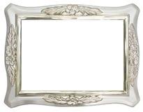Verzilver het frame van de Foto stock afbeeldingen