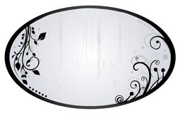Verzilver spiegel Stock Foto's