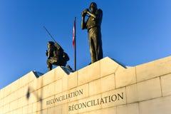 Verzoening: Het Behoud van de vredemonument - Ottawa, Canada stock fotografie