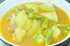 Verzuur soep Stock Foto