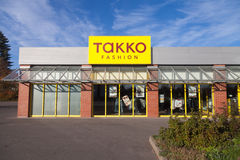 Verzweigen Sie sich von den TAKKO-Modeshops Lizenzfreie Stockfotografie