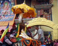 Vesak Buddhist Religious Holiday Kathmandu Nepal Stock Photo