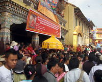 Vesak Buddhist Religious Holiday Nepal Stock Images