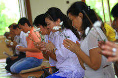 Vesak Ceremony Royalty Free Stock Image