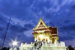 The vesak day in thailand Stock Photo