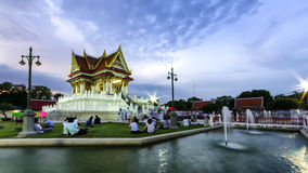 The vesak day in thailand Royalty Free Stock Image