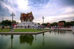 The vesak day in thailand Royalty Free Stock Photos