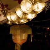 Vesak lampion z dźwięczeniami obraz stock