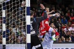 (1) 26 34 2010 veseli czeski definitywny grosswallstadt handball dopasowania nove republiki wynika tv veseli vs Zdjęcie Royalty Free