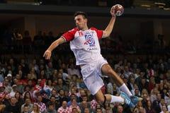 (1) 26 34 2010 veseli czeski definitywny grosswallstadt handball dopasowania nove republiki wynika tv veseli vs Zdjęcie Stock