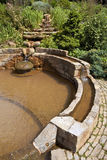 The Vesica Pool in the Chalice Well Gardens Stock Images