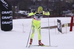 Vesna Fabjan - slovenian cross country skier Royalty Free Stock Images