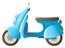 Vespa libre illustration
