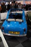 Vespa 400 minicar at Motorshow in Bruxelles Royalty Free Stock Photo