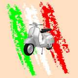 Vespa 50 Foto de Stock Royalty Free