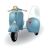 Vespa Stock Photo