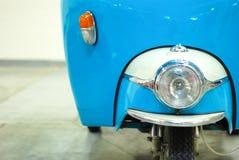 Vespa azul Foto de archivo