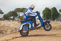 Vespa cross Stock Image