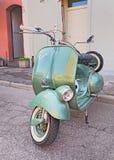 Vespa de scooter d'Iralian de vintage Photographie stock libre de droits