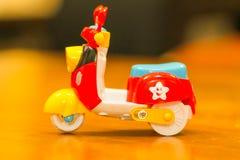 Vespa del juguete Imagen de archivo
