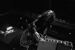 VESPA em Live Music Club MI 09-11-2017 Imagens de Stock Royalty Free