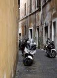 Vespa em Roma Foto de Stock