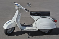 Vespa - iconic Italian scooter on motorsport meeting HBier, Genova, Liguria, Italy Royalty Free Stock Photography
