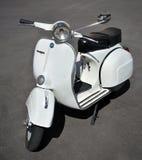 Vespa - iconic Italian scooter on motorsport meeting HBier, Genova, Liguria, Italy Stock Images