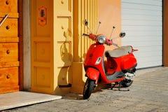 Vespa LX 50 - iconic Italian scooter Stock Photos