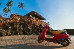 Vespa moped Zdjęcie Stock