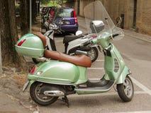 Vespa motorbike Stock Image