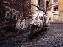 Vespa Royalty Free Stock Photo