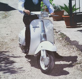 Vespa Piaggio do vintage Fotografia de Stock