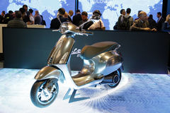 Vespa piaggio world premiere 2016 Stock Photography