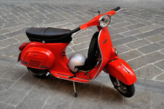 Vespa primavera 125 et3 iconic Italian scooter Royalty Free Stock Images