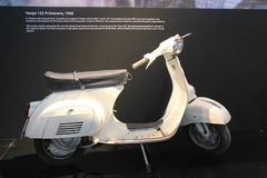 Vespa 125 Primavera - 1968 Royalty Free Stock Photos