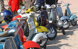 Free Vespa Rally Stock Images - 93422634