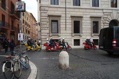Vespa Roma Fotografering för Bildbyråer
