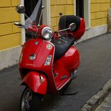 vespa rouge Image stock