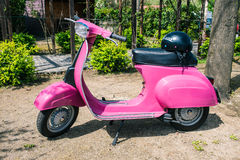 Vespa 50s Royalty Free Stock Images