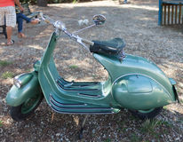 Vespa 50s Royalty Free Stock Photos