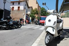 Vespa  scooter Royalty Free Stock Images